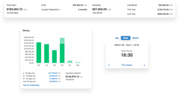 Redesigned invoice, expense and timer modules.