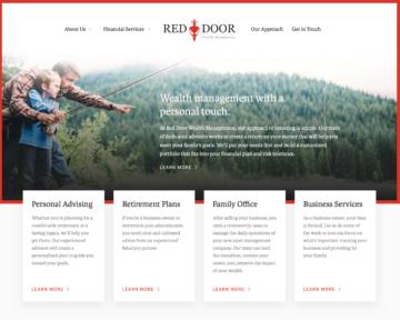 Red door wealth hero