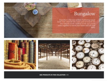 Bungalow collection.